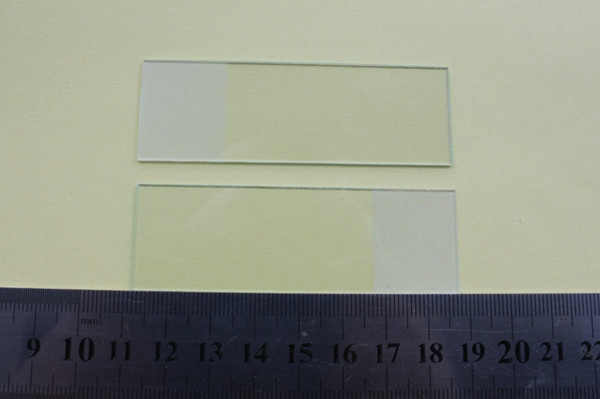 7105 Glass Microscope Slide with frosted end