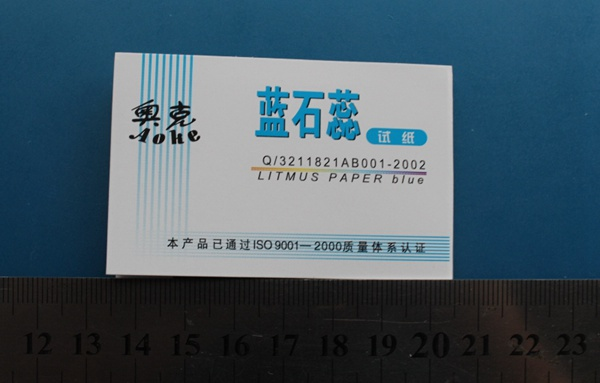 Blue Litmus paper test strips for PH test