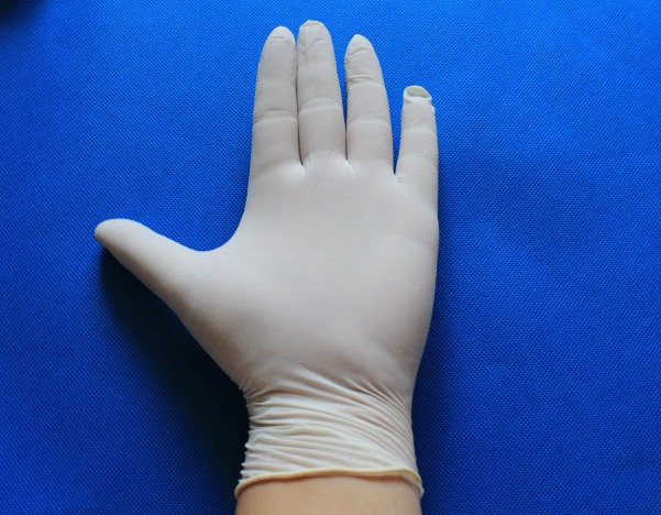 Disposable Powdered or Powder Free latex exam gloves
