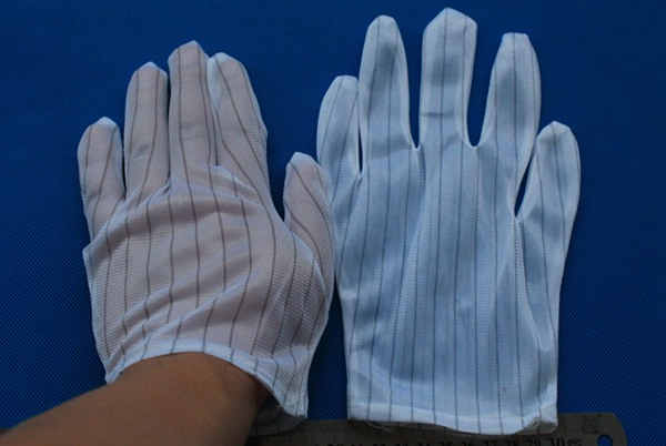 Dust-free antistatic gloves ESD Gloves