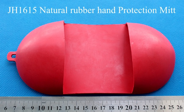 hot and cold Hand protector Natural rubber hand Protection Mitt