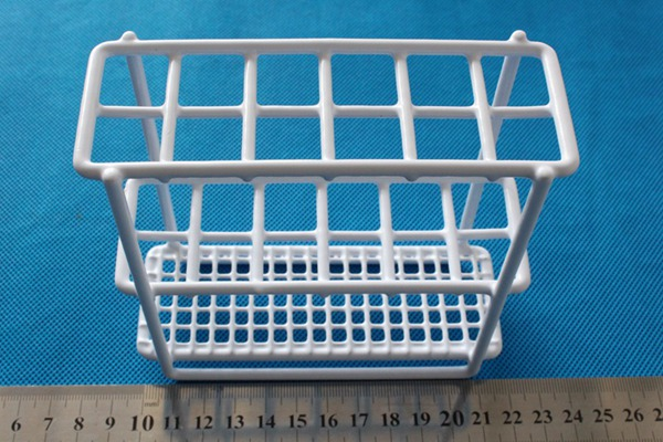 Plastic coating steel wire test tube rack test tube stand