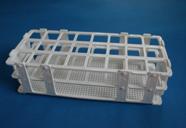 Snap together Self assembly Grip test tube rack with Wire Pattern
