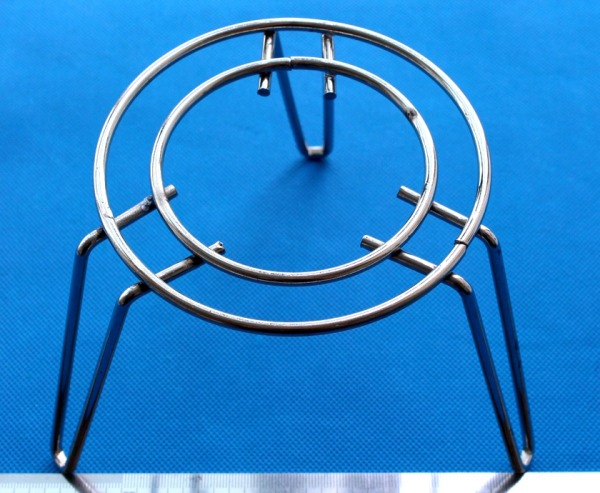 Concentric Double Wire ring Tripod stand for Burner in lab