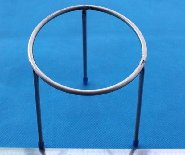 Stainless steel Ring Tripod stand for Burner in lab
