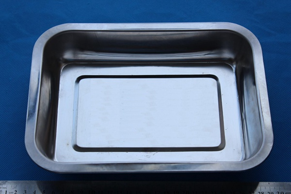 Rectangular Stainless steel Instrument Tray utility tray