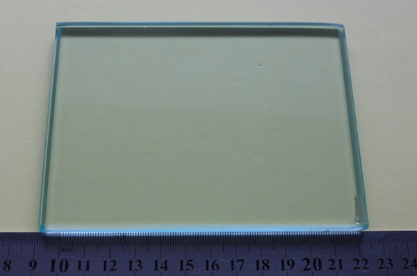 Glass Mixing Slab dental slab Glass Slab with beveled edges