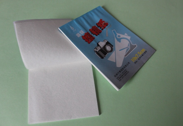 10*7.5cm Small Lens Paper cleaning wipes Lens Tissue paper