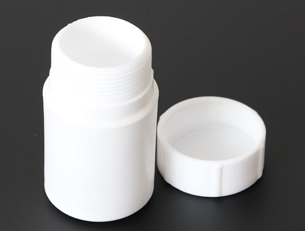 Wide mouth FEP PFA PTFE bottle for corrosive chemical