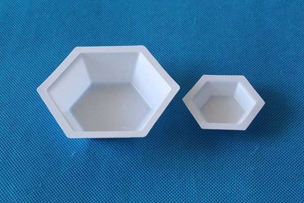 Plastic Anti-Static Hexagon Weighing Dish Hexagonal weigh boat