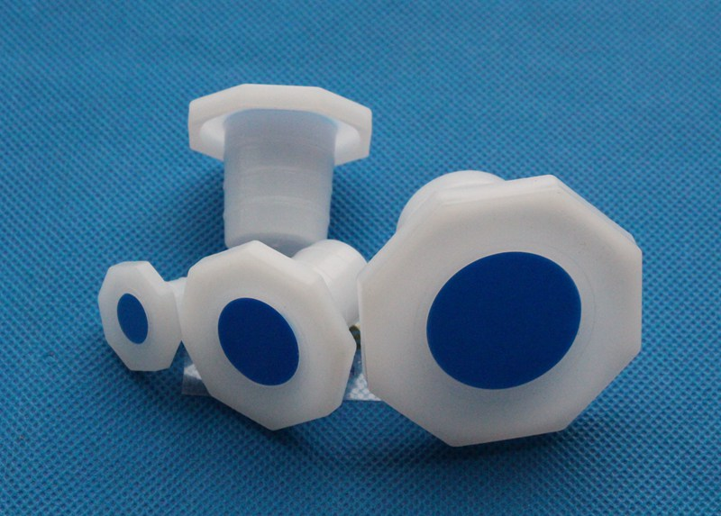 10/19 to 29/32 Octagonal Plastic PE stopper for standard ground glass joint mouth