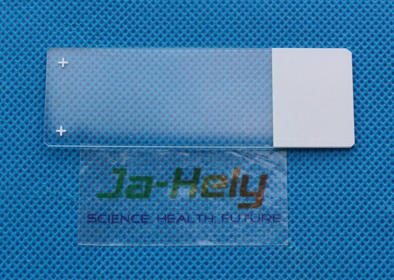 Glass Hydrophobic Adhesive and Charged surface adhesion microscope slide