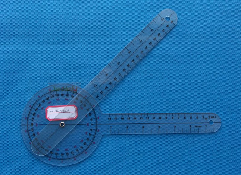 49cm 19inch Big Plastic orthopedics Goniometer orthopedic Ruler