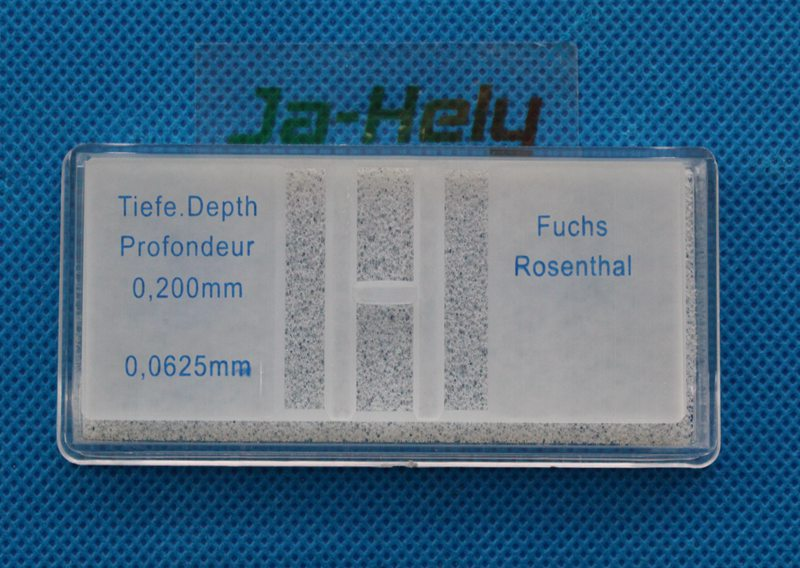 Fuchs Rosenthal Hemocytometer counter blood cell counting chamber