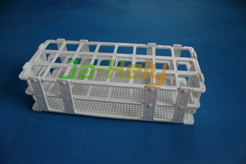 21/24/40/60/90 place 13~29mm Self assembly Detachable Snap together test tube rack with Wire Pattern