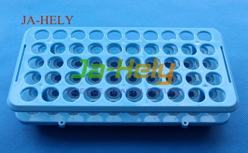 up to 17mm 50 place Grip test tube rack with grippers