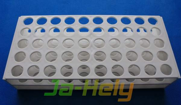Plastic One rack One piece molded Autoclavable test tube rack for lab