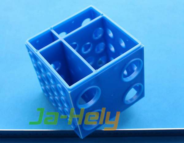 Multi size self assembly Detachable 4-Way Cube test tube rack for lab