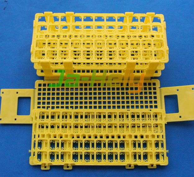 44 holes 10~16mm Self assembly Grip Detachable Demountable Test tube rack with Grippers