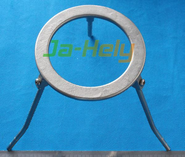 Demountable Three Legs plated steel Ring Tripod lab bunsen burner stand chemistry