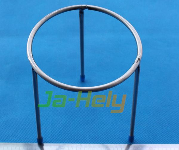 10*15 12.5*20 15*20cm OEM Custom Stainless steel Tripod Burner Stand chemistry lab ring stand
