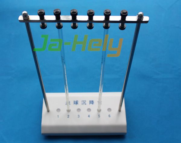 Steel 5 or 10 or 6-slot ESR stand Westergren tube rack for lab
