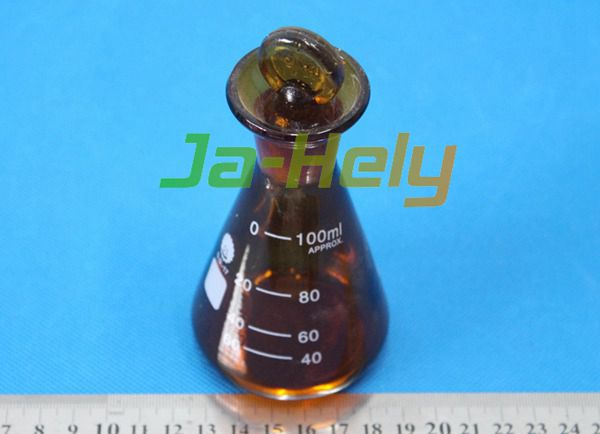 50~500ml lab use brown Iodine determination flask amber iodine flask