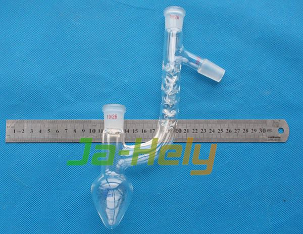 25~2000ml Lab use Glass pear Shape Claisen-Vigreux Distilling Flask with ground ST Joint