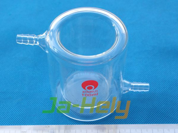 50ml~5000ml Lab use double-walled Glass jacketed Tempering Beaker