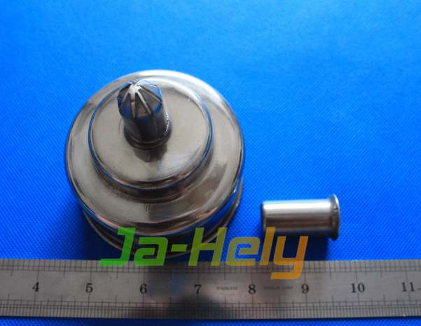 200ml 400ml Stainless steel alcohol burner spirit lamp for lab use