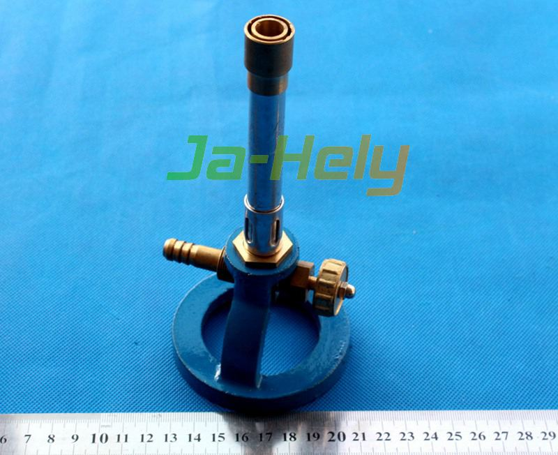 Cast iron heavy base Bunsen Burner for LPG natural gas or artificial gas