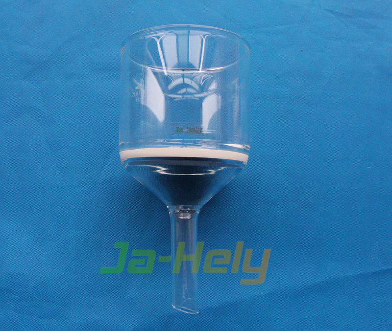 25ml~5000ml Lab use glass Buchner funnel filter funnel with glass fritted disc