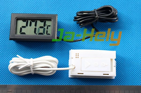 LCD Digital thermometer with remote probe sensor