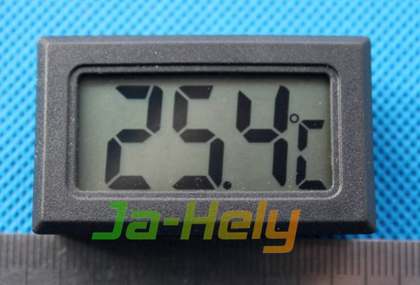 Panel Mount small LCD Digital thermometer