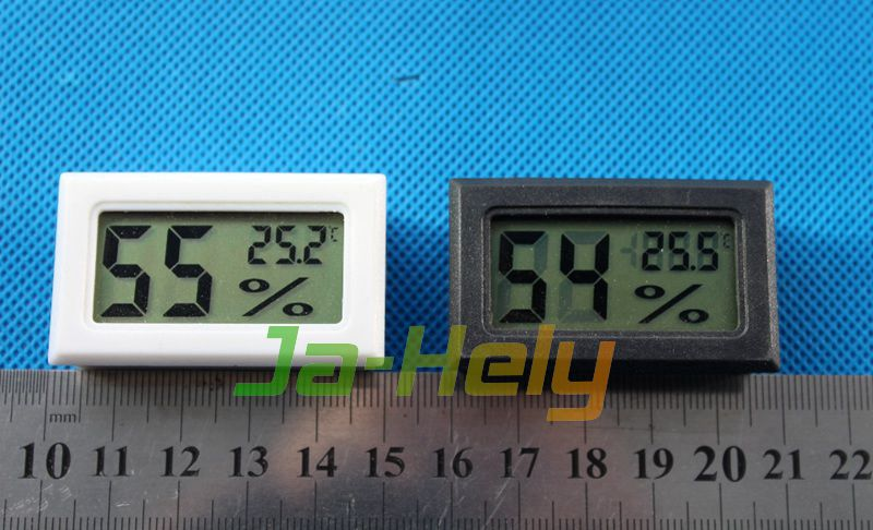 Panel Mount small LCD Digital hygrothermograph thermo hygrometer