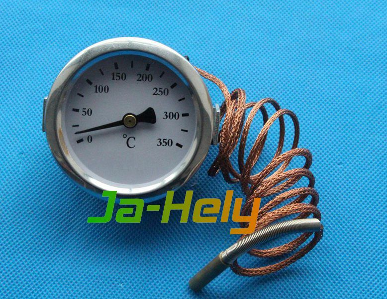 0~350 centigrade Dial Roasting capillary thermometer oven gauge with probe