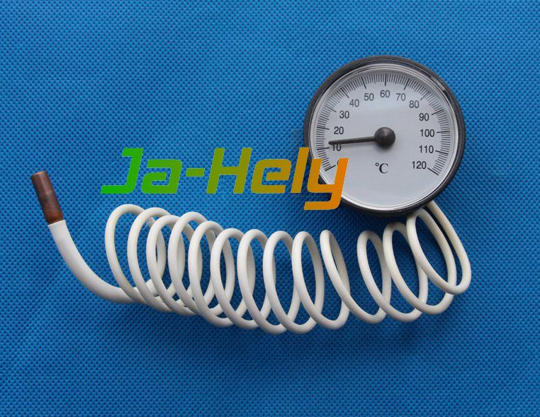 0~120 centigrade Dial capillary thermometer Boiler gauge with probe