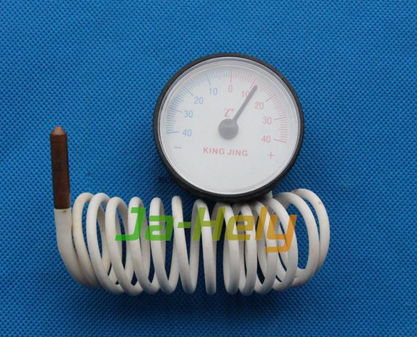 -40~+40 centigrade Dial Refrigerator capillary thermometer Freezer gauge with probe