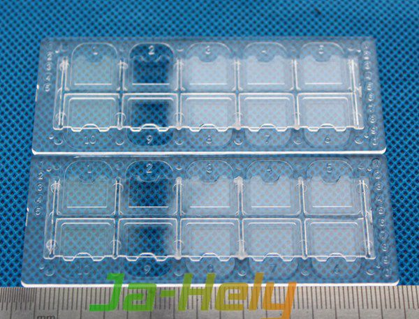 Disposable plastic cell counting slide chamber Urine Sediment Test Slide