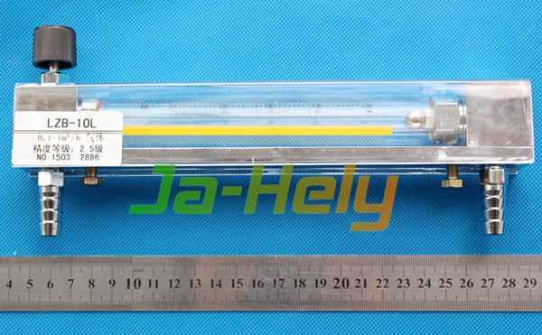Glass Rotameter Glass Tube Variable area flowmeter for Gas or liquid