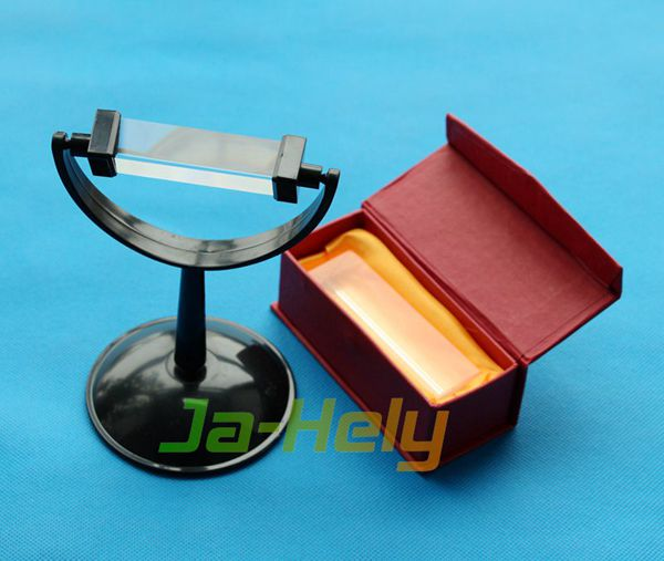25*80 30*50/100/150/200 40*180mm Glass Triple Triangular Prism for lab optical experiment