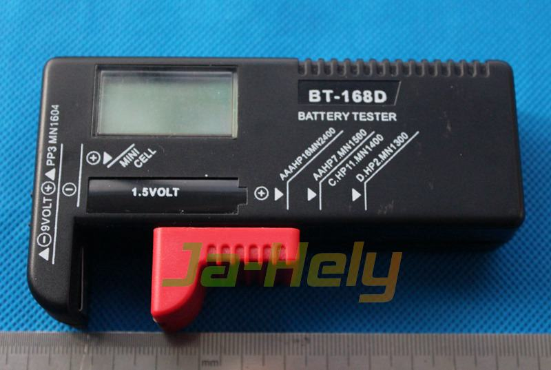 LCD Digital Universal battery Checker tester for 1.5V~9V battery & button cell