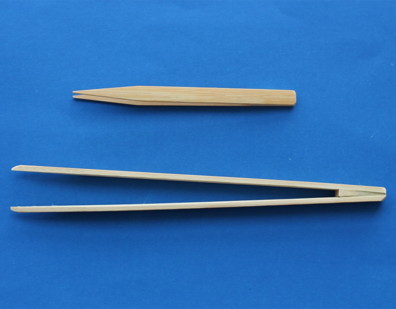 15cm 25cm Bamboo antistatic Tweezer ESD Forceps