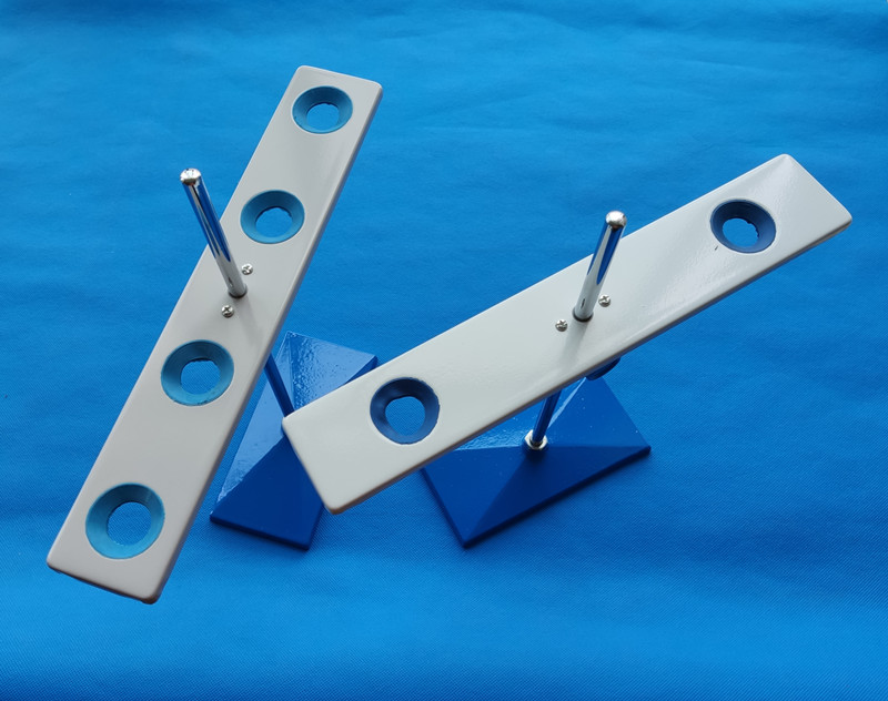 Demountable adjustable Metal Steel 2 or 4 holes funnel holder support funnel rack for lab